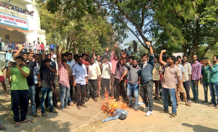 Osmania University protest