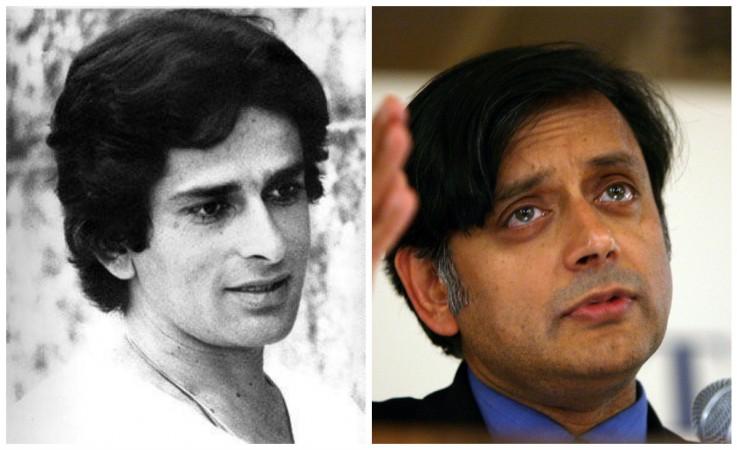 Shashi Kapoor and Shashi Tharoor