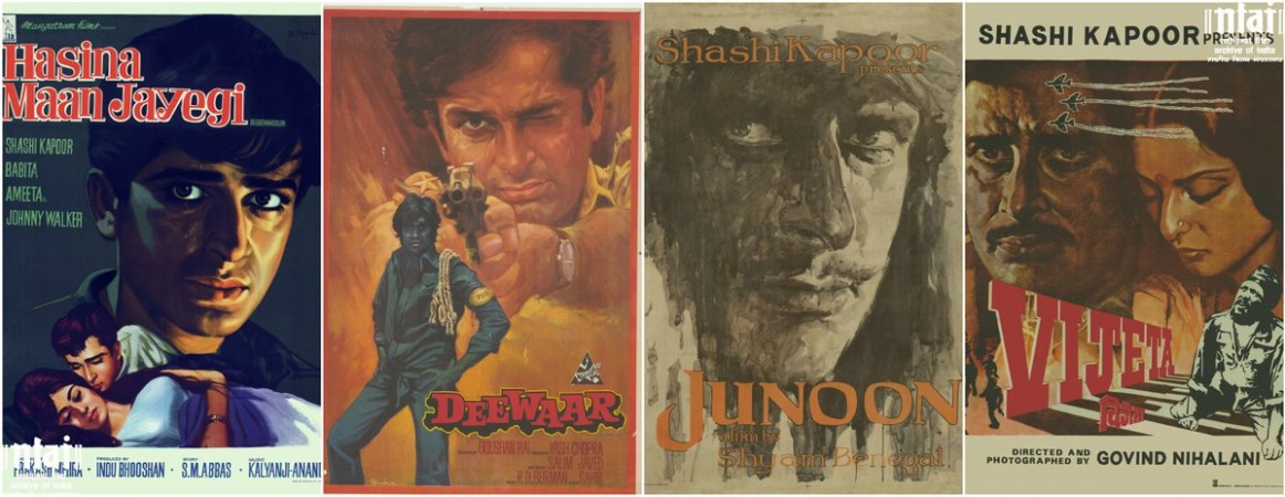 Shashi Kapoor film posters