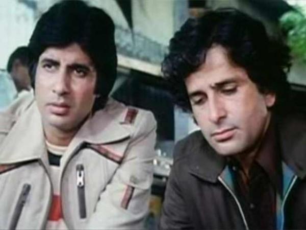 Shashi Kapoor Amitabh Bachchan