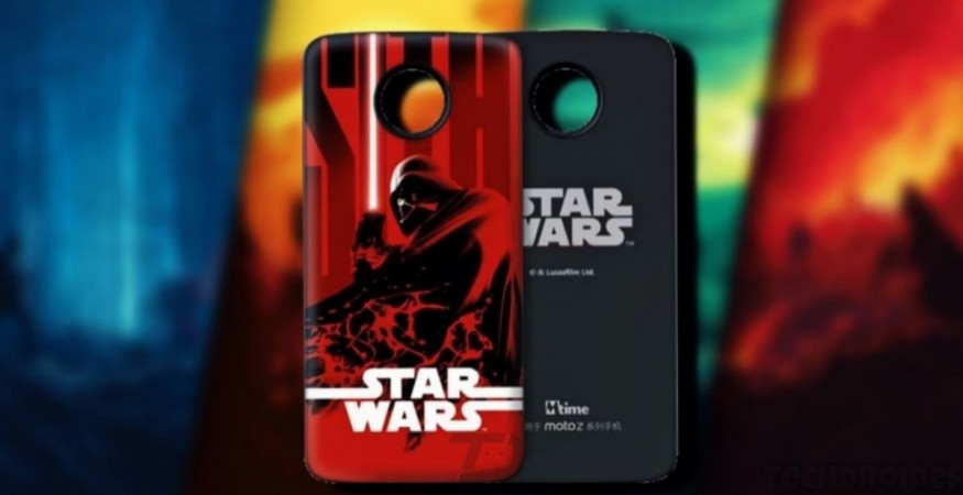 Motorola, Moto Mods, Star Wars: The Last Jedi, Darth Vader, Moto
