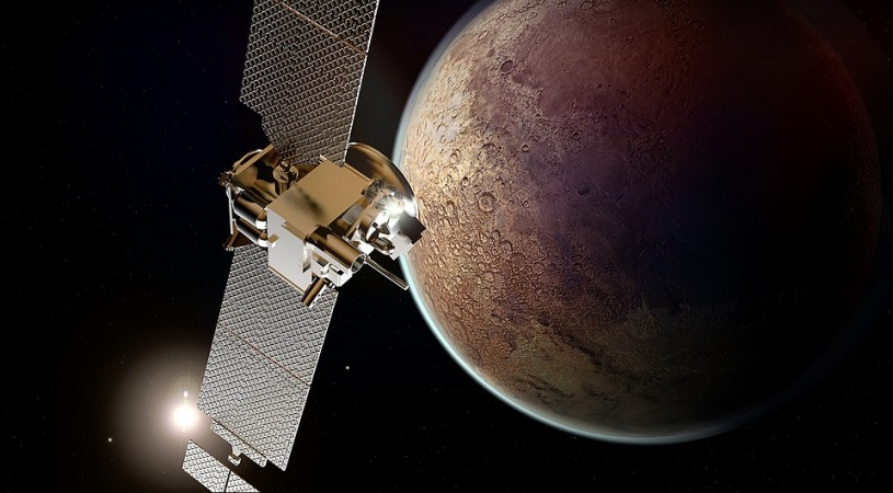 Mars communication satellite
