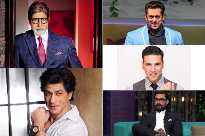 BigB, SRK, Salman, Akshay, Aamir