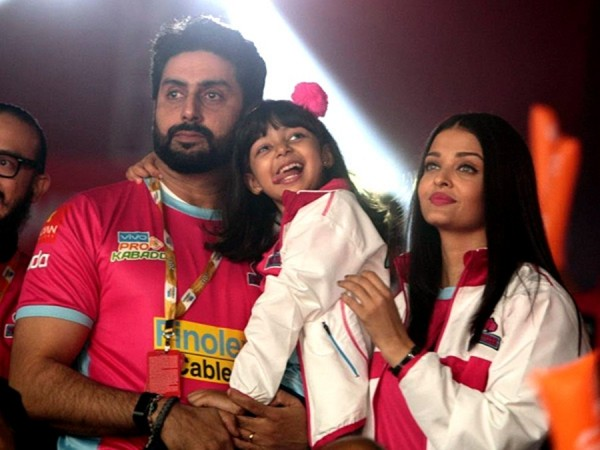 Abhishek Bachchan, Aishwarya Rai Bachchan, daughter Aaradhya Bachchan