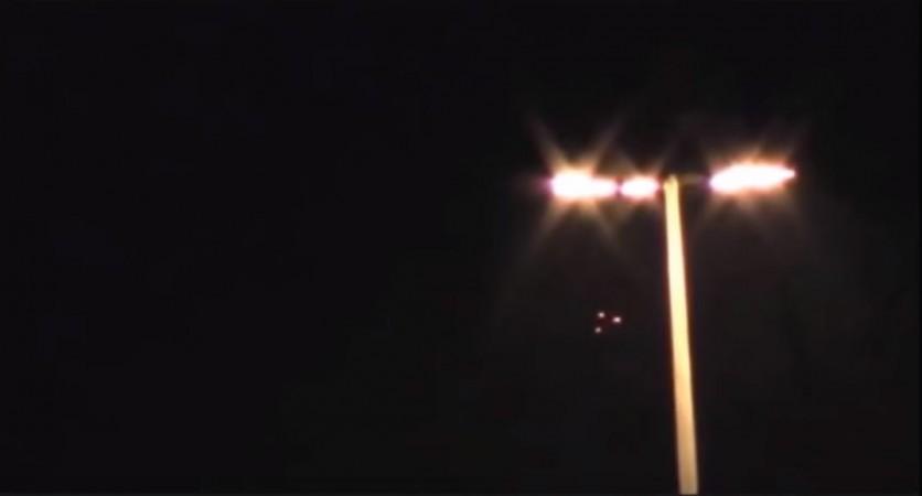 triangle-shaped UFO