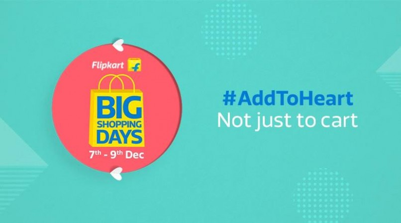 Flipkart Big Shopping Days sale 2017