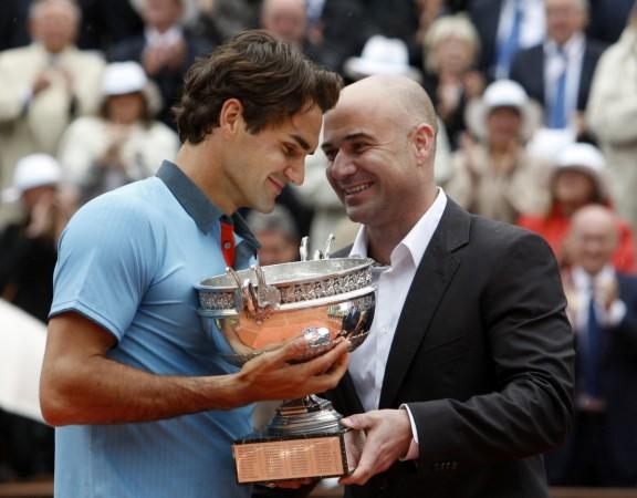 Andre Agassi, Poger Federer