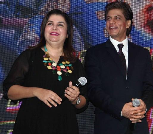 Farah Khan and Shah Rukh Khan