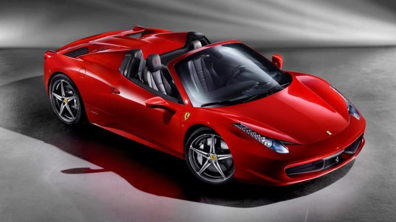 Ferrari thief