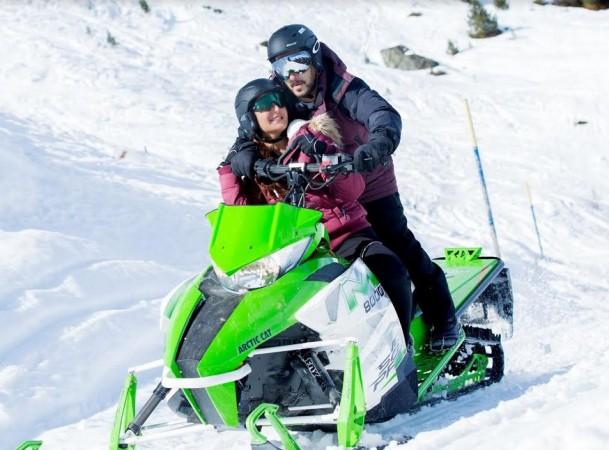 Salman Khan and Katrina Kaif in the song Dil Diyan Gallan for Tiger Zinda Hai