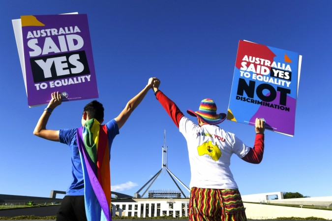gay marriage australia