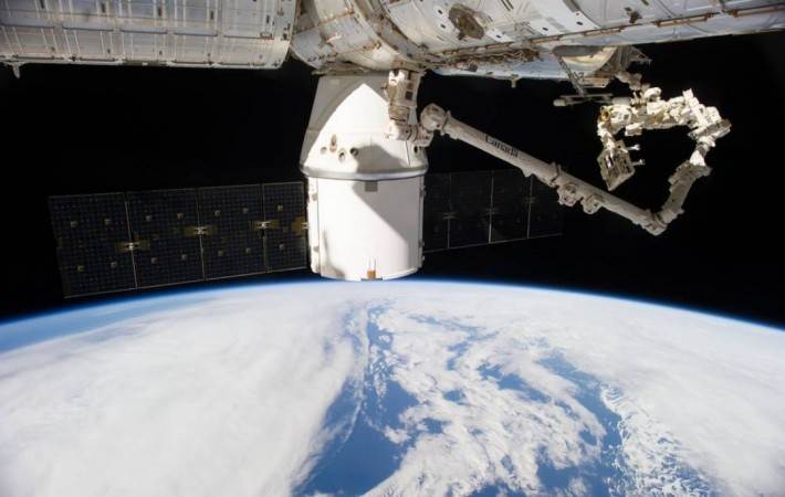 A SpaceX Dragon loaded with about 4,800 pounds of research, hardware and crew supplies bound for the International Space Station is targeted to launch on a Falcon 9 rocket from Cape Canaveral Air Force Station in Florida