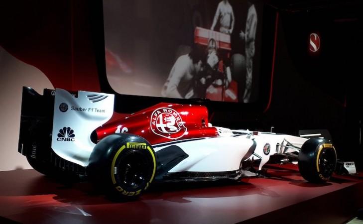 Alfa Romeo Sauber F1 livery concept