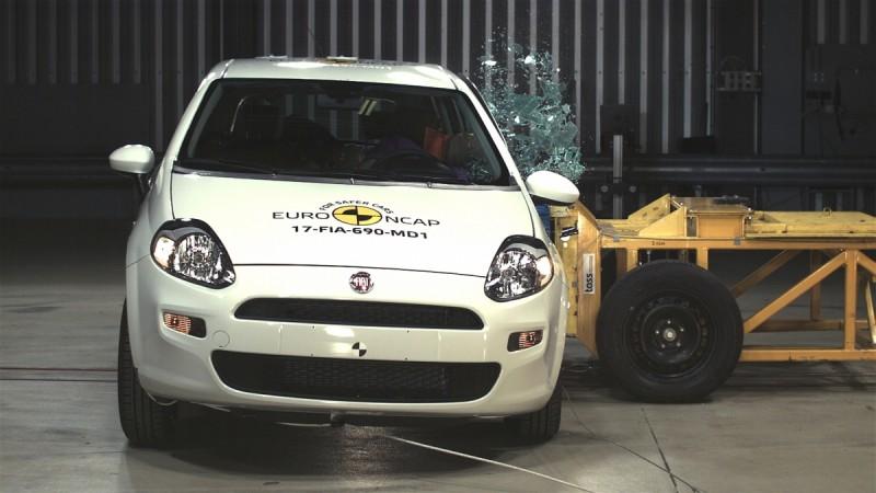 Fiat Punto, Fiat Punto crash test
