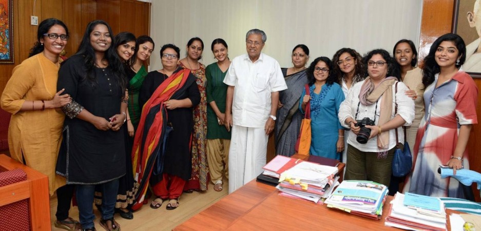 Women in Cinema Collective, Pinarayi Vijayan