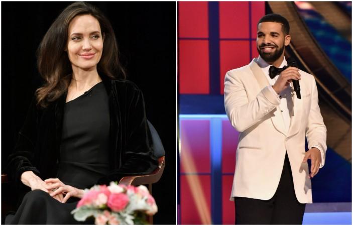 Angelina Jolie, Drake