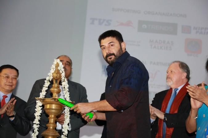 Arvind Swami at 15th Chennai International Film Festival