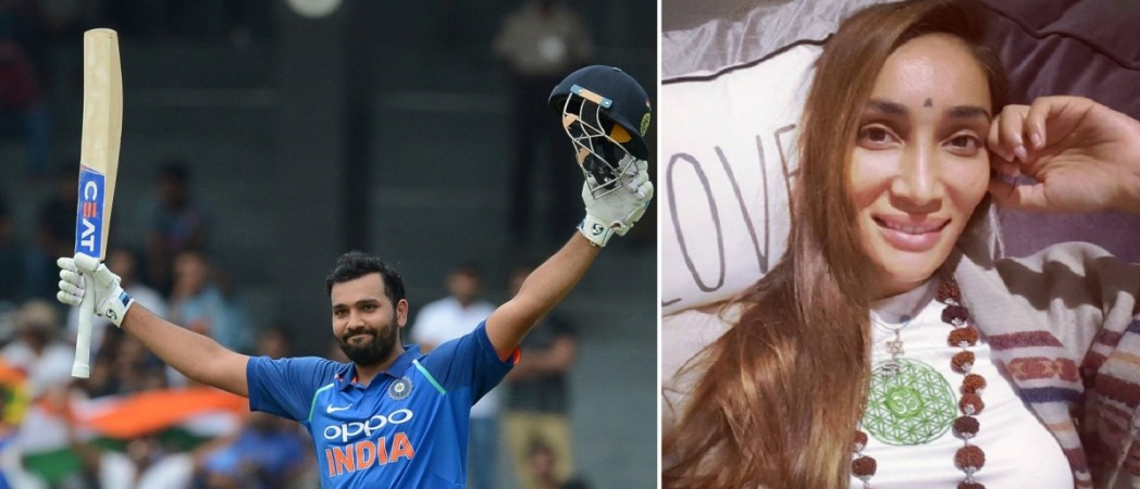 Rohit Sharma, 3rd double hundred ODI, Sofia Hayat