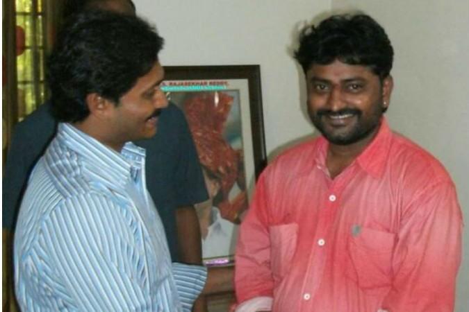 Tiyyagura Venkat Reddy with YS Jaganmohan Reddy