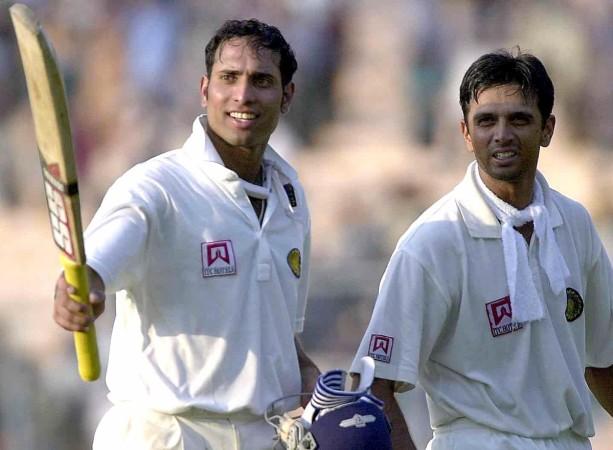 Rahul Dravid and VVS Laxman