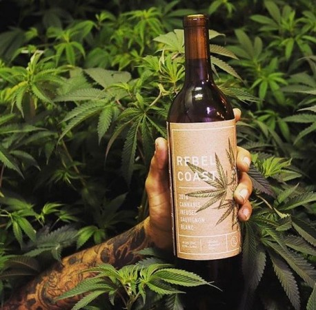 World's first cannabis-infused, alcohol-free wine