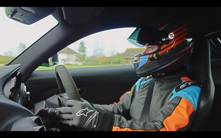 Abbie Eaton — The Grand Tour's new test driver