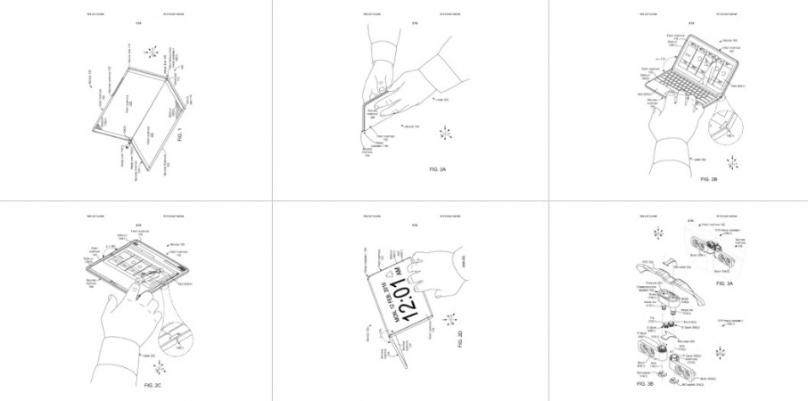 Microsoft Surface device patent