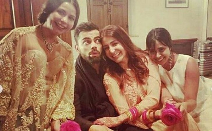 Virat Kohli, Anushka Sharma post-wedding photo