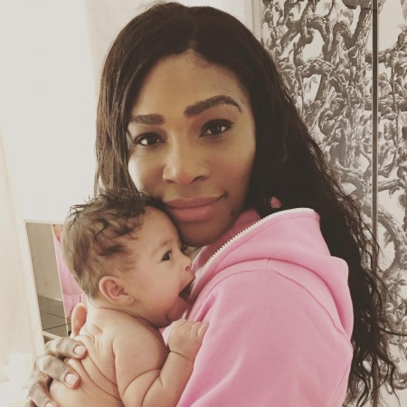 serena williams and baby