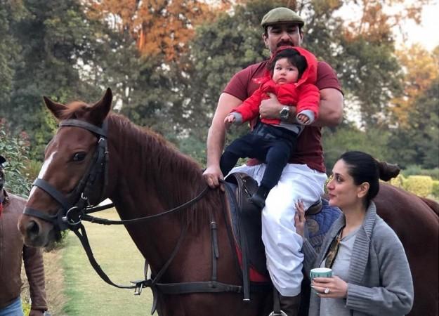 Saif and Kareena son taimur