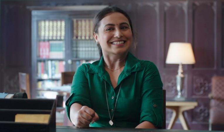 Rani Mukerji, Hichki trailer
