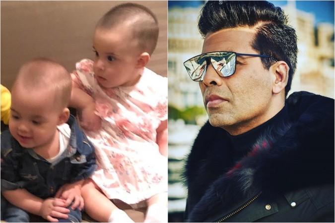 Karan Johar twins