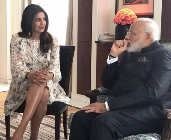 Priyanka Chopra met PM Narendra Modi