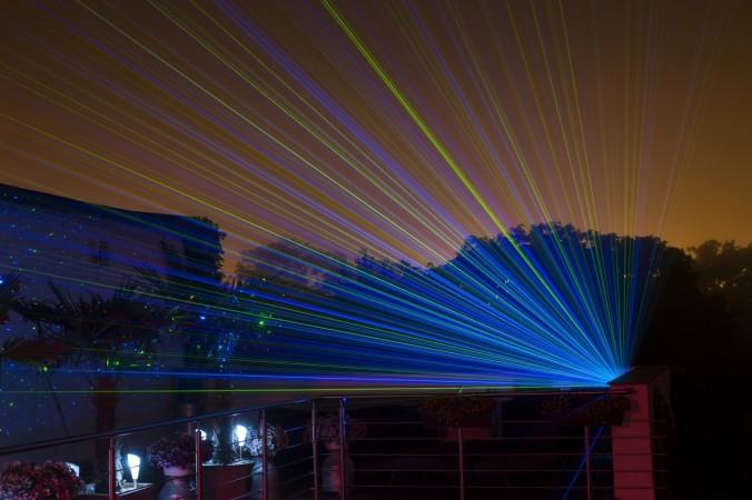 Laser internet