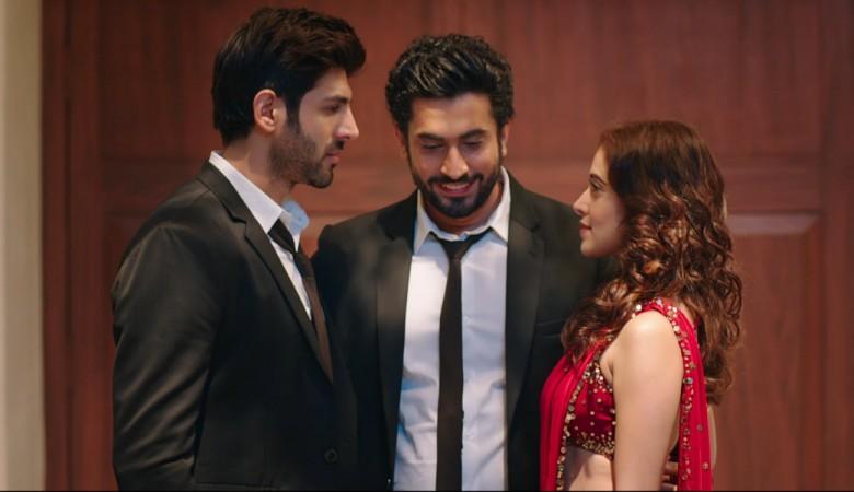KArtik Aaryan, Sunny Singh, Nushrat Bharucha