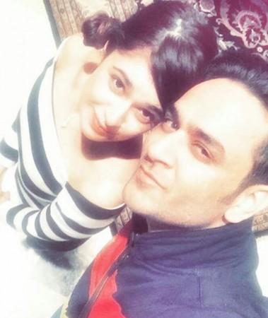Yuvika Chaudhary and Vikas Gupta