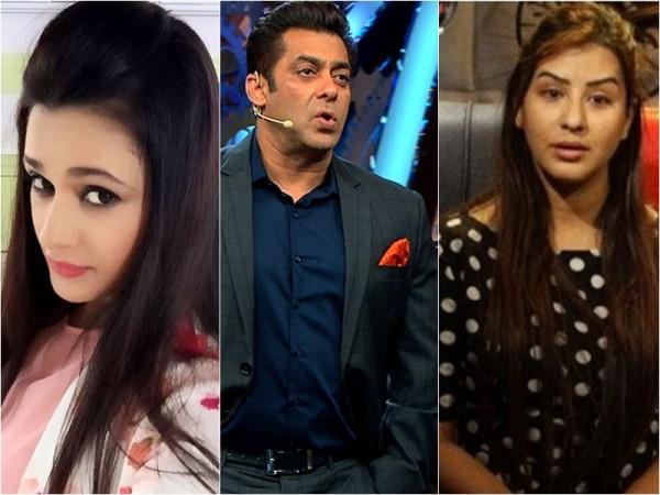 Yuvika Chaudhary, Salman Khan and Shilpa Shinde