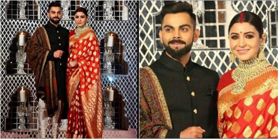 Anushka Sharma-Virat Kohli\'s Delhi Reception OUTFITS: Designer ...