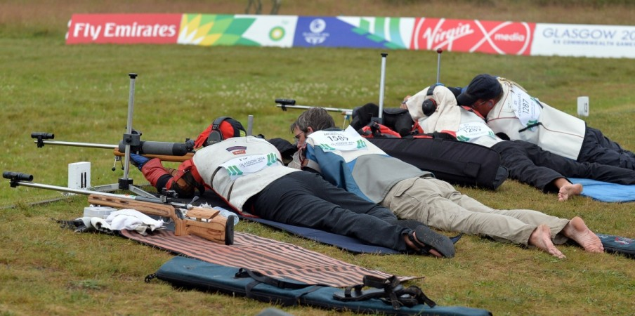 Shooting at Commonweath Games