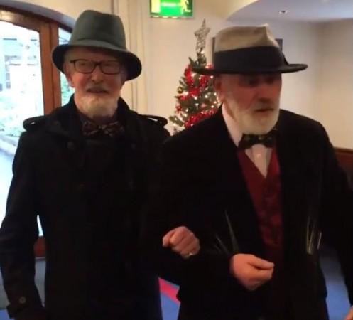 Matt Murphy and Michael O'Sullivan