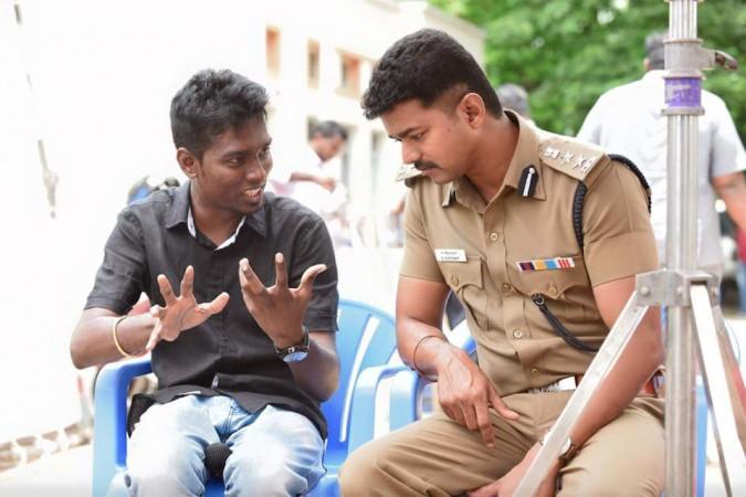Atlee with Vijay