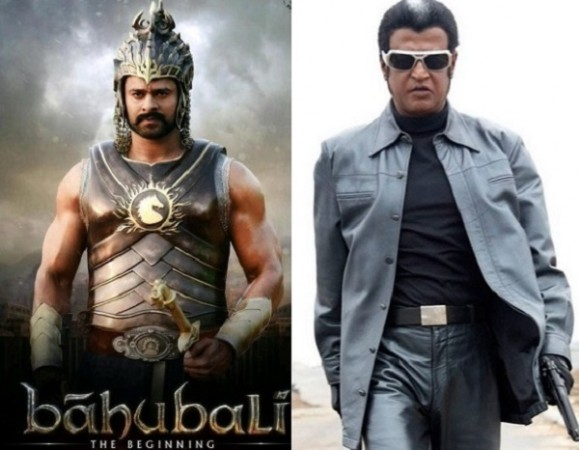 Prabhas and Rajinikanth