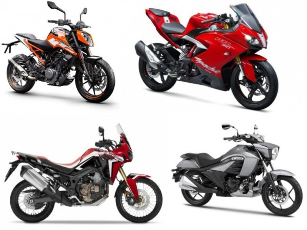 Top 10 bikes launched in 2017