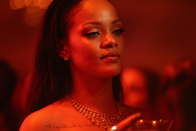 Rihanna oozes sexiness in a red gown despite being 'sick af' [PHOTO] - IBTimes India