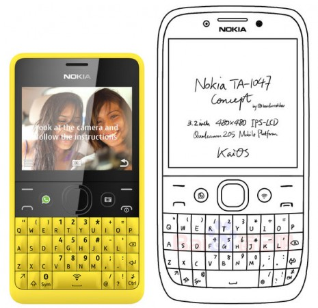 Nokia QWERTY Phone