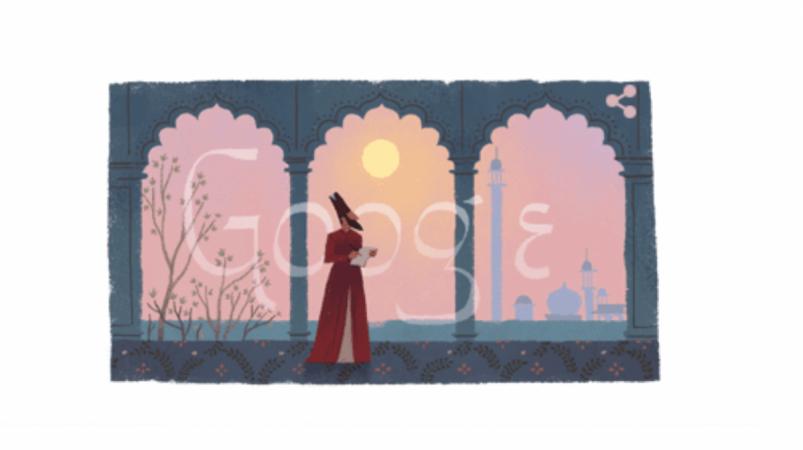 Google doodle, Mirza Ghalib,