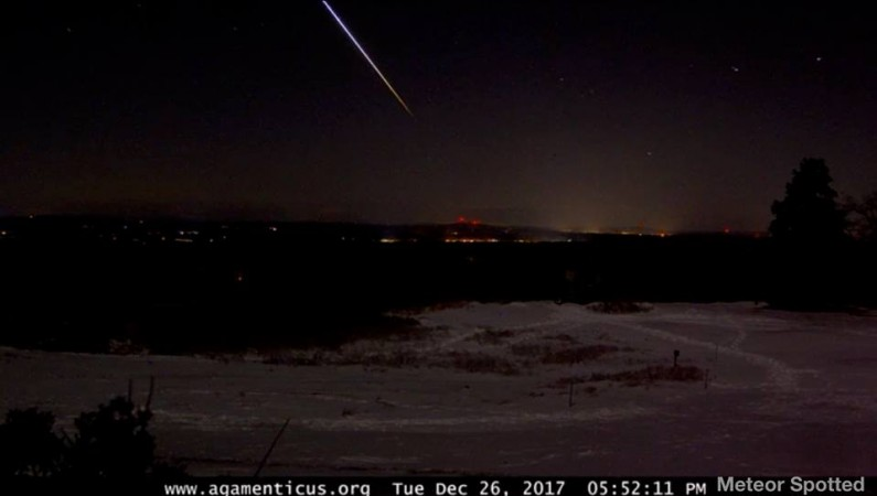 Watch: Meteor illuminates sky during Foo Fighters show in Netherlands