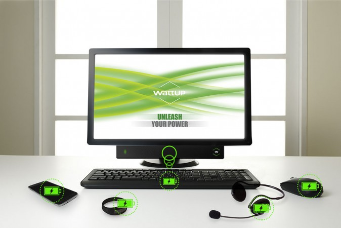 WattUp wireless charging system