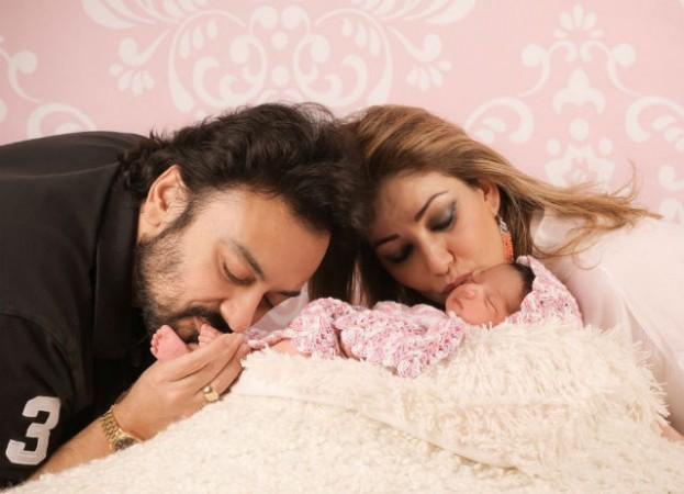 Adnan Sami and Roya Sami Khan