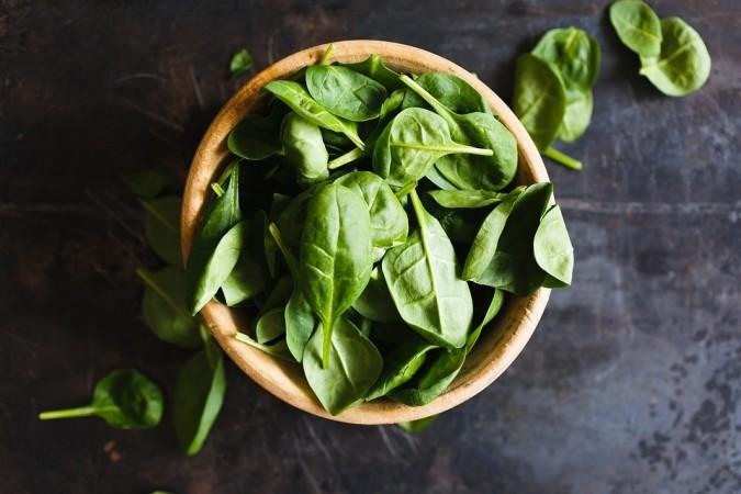Green leafy vegetables, green veggies,